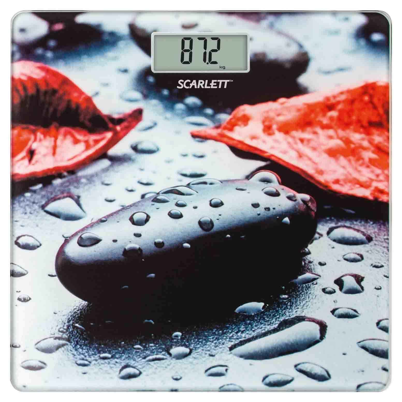Scarlett SC-BS33E052 Stone весы напольные электронныеSC-BS33E052