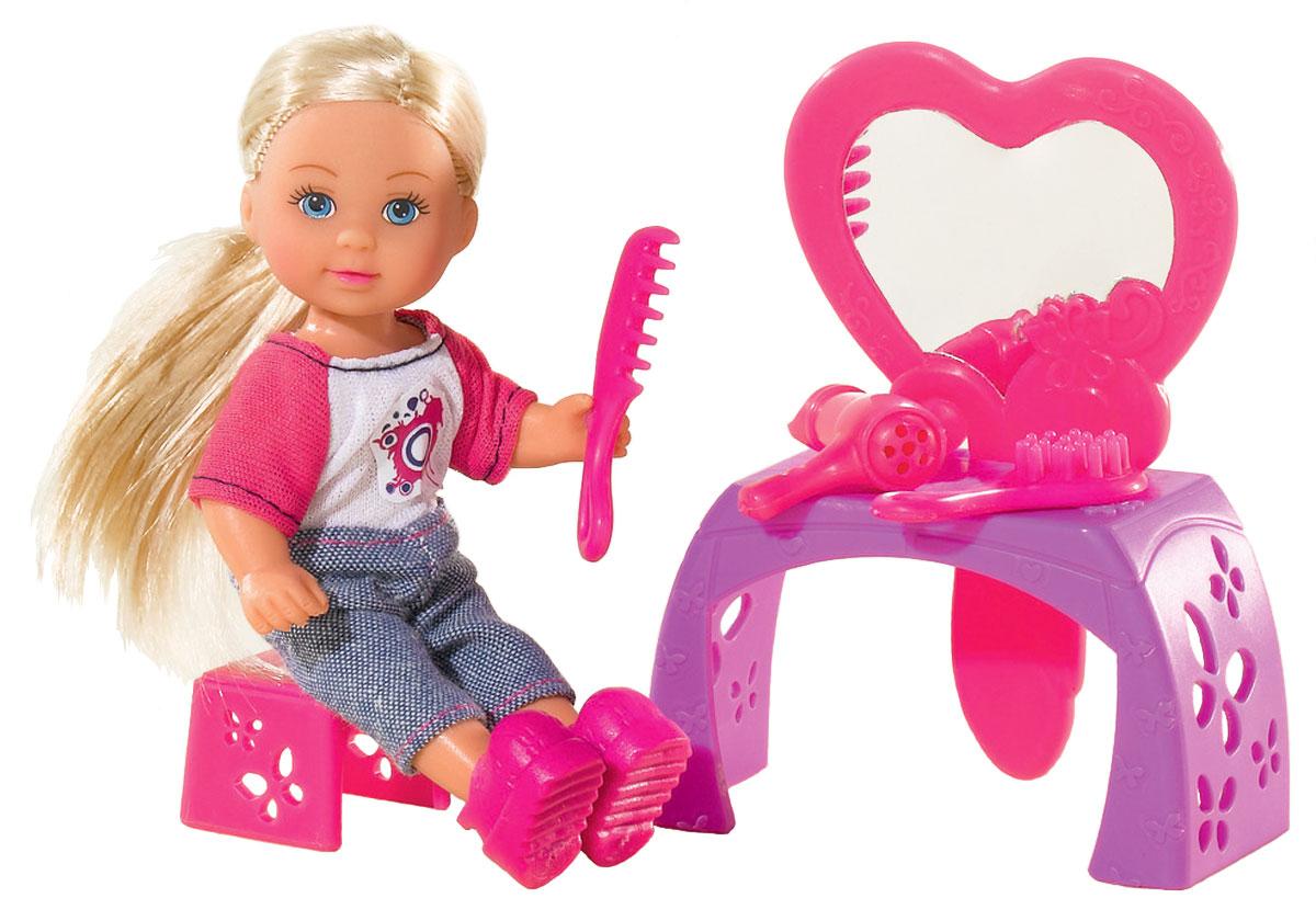 Simba Игровой набор с мини-кулой Evi Love Make-Up Table simba игровой набор с мини куклой evi love fairy carriage