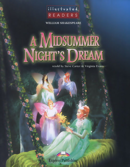 William Shakespeare A Midsummer Night's Dream fairy unicorns the magic forest