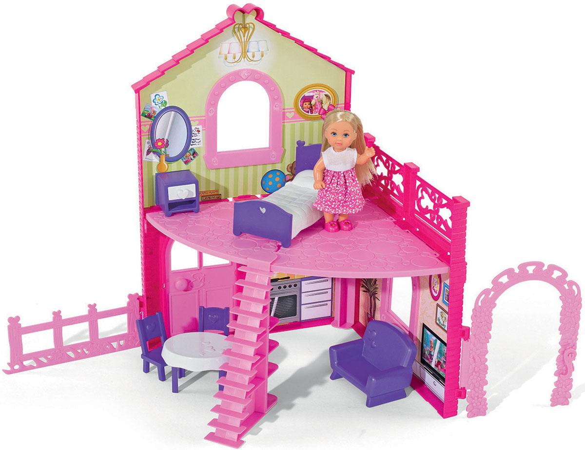 Simba Игровой набор с мини-куклами Evi Love Cute House simba игровой набор с мини куклой evi love fairy carriage