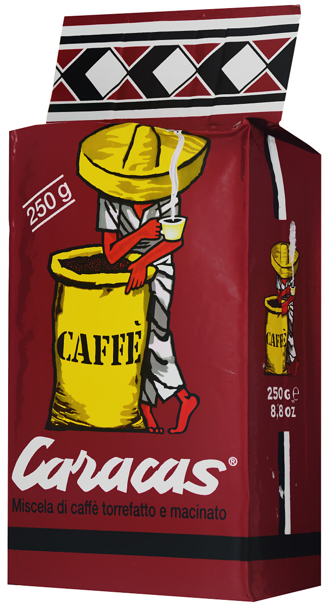 Caffe Corsini Caracas Rosso молотый кофе, 250 г купить туристическую пенку