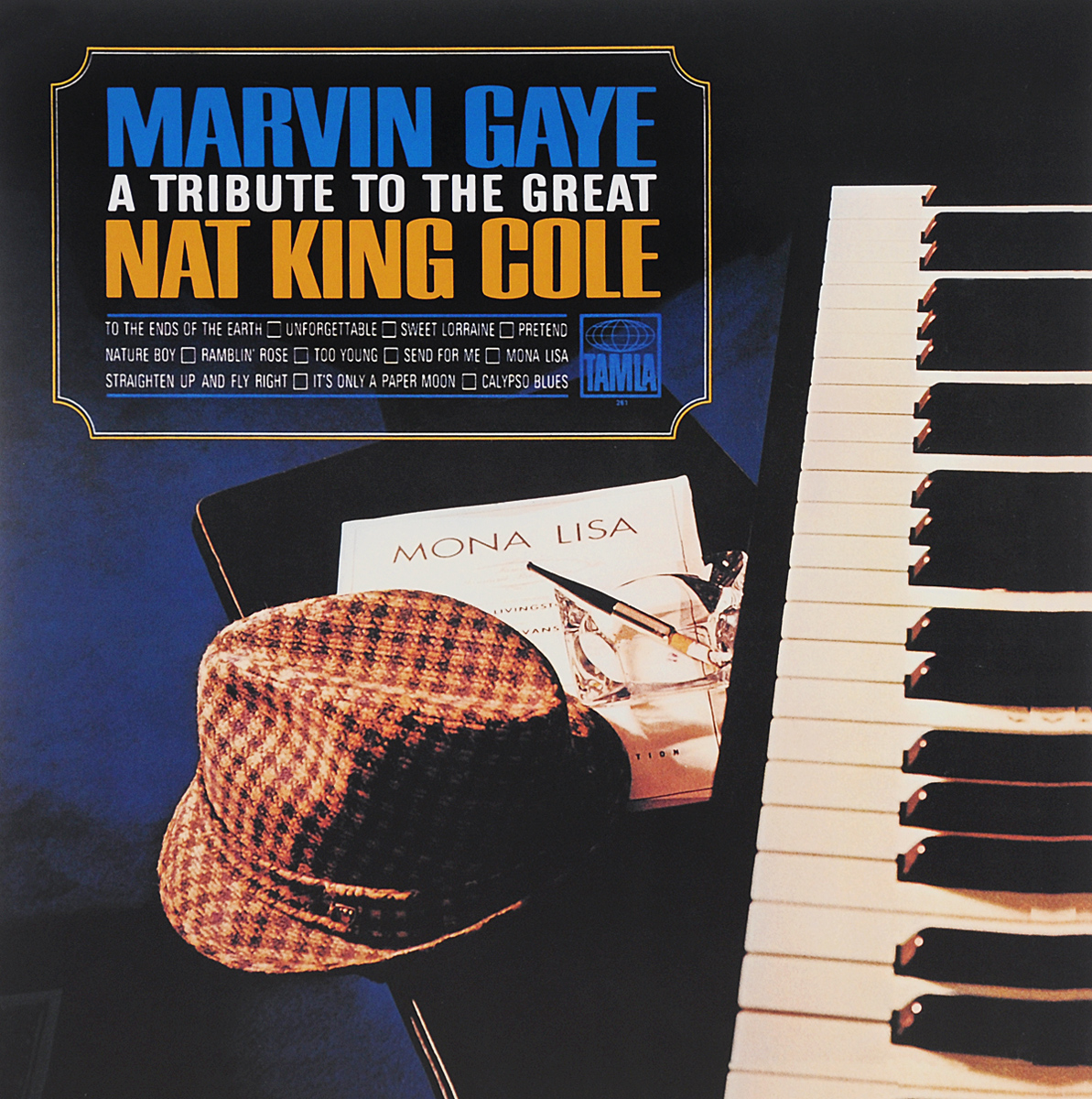 Марвин Гэй Marvin Gaye. A Tribute To The Great Nat King Cole (LP) marvin gaye marvin gaye a tribute to the great nat king cole