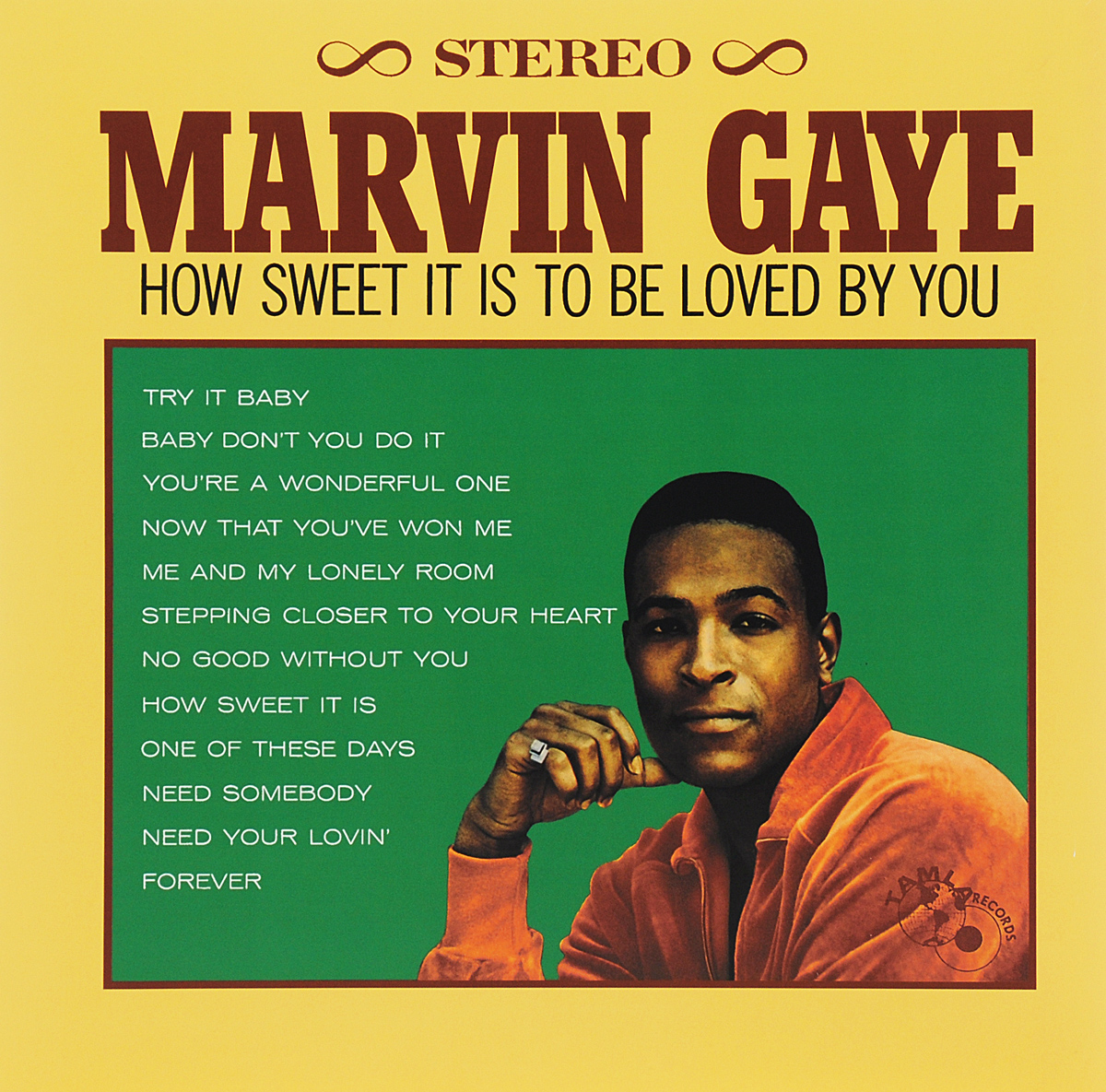 Marvin Gaye. How Sweet It Is To Be Loved By You (LP)