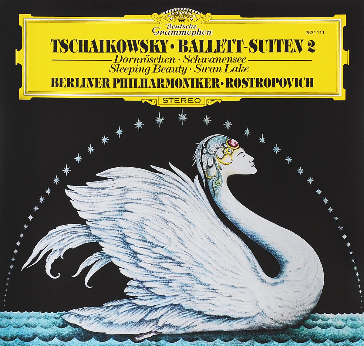 Мстислав Ростропович,Леон Спирер,Эберхард Финк,Berliner Philharmoniker Rostropovich. Tchaikowsky. Ballet-Suiten II (LP)