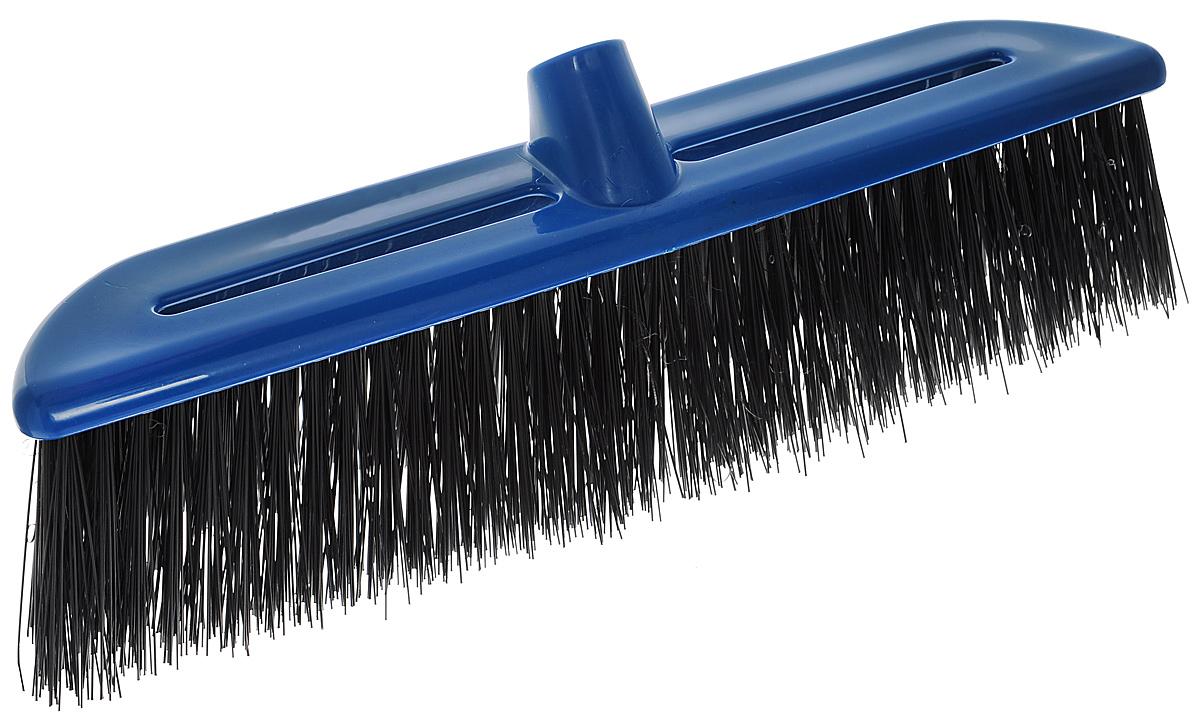 Щетка-насадка Альтернатива, жесткая, цвет: синий, черный комплект для уборки альтернатива комфорт жесткая щетина цвет синий 2 предмета