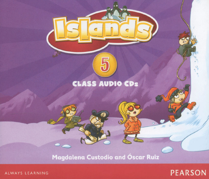 Islands: Level 5: Family Island: Class Audio CD 4 (аудиокурс на 4 CD) our discovery island 4 audio cd 3 лцн
