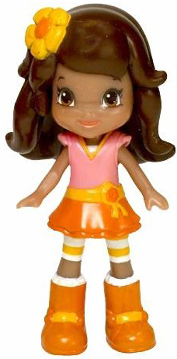 Шарлотта Земляничка Кукла Апельсинка, 8 см gulliver кукла апельсинка в клетчатом платье 30см 30 11bac3498