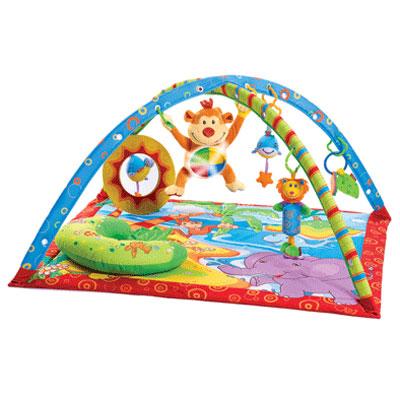 Tiny Love Развивающий коврик  Остров музыкальной обезьянки  - Игрушки для малышей