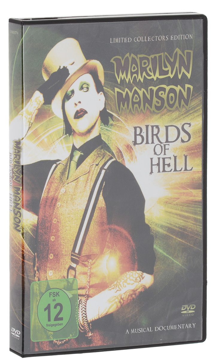 Marilyn Manson: Birds Of Hell pantera pantera reinventing hell the best of pantera cd dvd