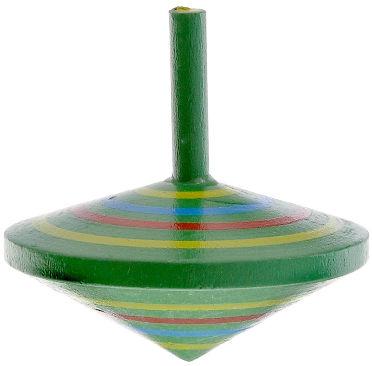 Mapacha Волчок Спиралька цвет зеленый