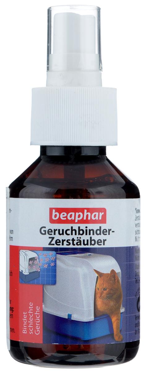 Спрей-дезодорант для кошачьих туалетов Beaphar Geruchbinder-Zerstauber, 100 мл дезодорант hlavin дезодорант спрей для обуви
