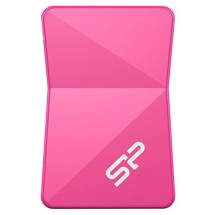 Silicon Power Touch T08 32GB, Pink USB-накопительSP032GBUF2T08V1HНакопитель Silicon Power Touch T08 с интерфейсом USB 2.0 является наследником классических традиций дизайнаSilicon Power. И в то же время, своей внешней конструкцией, построенной на контрасте геометрических форм, сглянцевым блеском корпуса и диагональной структурой углов, Touch T08 создает совершенно новый яркий стиль иощущение многогранности, завораживающей взгляд игрой света и теней, которые в любых ситуациях будутпридавать устройству оригинальный и динамичный внешний вид.Touch T08 - самый миниатюрный по габаритам среди серии накопителей Silicon Power с пластмассовым корпусом.Он имеет удобное отверстие для закрепления на вещах, позволяя вам всегда иметь необходимые файлы при себес удобством и легкостью, никогда не теряя желаемой эффективности в занятой мобильной жизни. В дополнение к завораживающему внешнему виду, Silicon Power Touch T08 еще и обладает полноценнойвстроенной системой защиты сохраненной информации. Использование современной технологии Micro COB (ChipOn Board) обеспечивает устойчивость накопителя к влаге, пыли, встряскам и различным повреждениям, частослучающихся при каждодневном использовании и гарантирует надежную защиту от потери информации, так чтовы всегда сможете хранить дорогие вам воспоминания с максимальной надежностью.