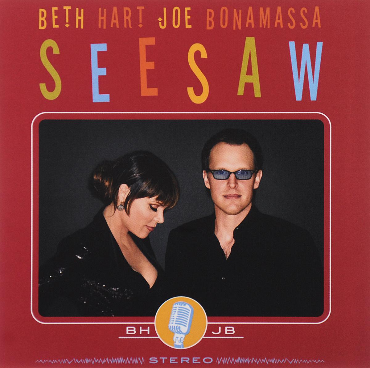 Бет Хат,Джо Бонамасса Beth Hart, Joe Bonamassa. Seesaw (CD+DVD) музыка cd dvd cd dvd seiko matsuda chris hart