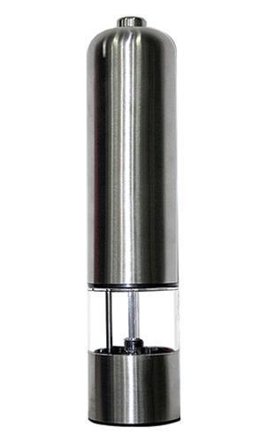 Boulle PM-01 электрическая перцемолкаPM-01Электрическая мельница Boulle PM-01 - просто незаменимая вещь на кухне любой современной хозяйки. С нейприготовление и употребление пищи переходит на качественно новый уровень. Приятно готовить, вкусно есть,легко мыть!Особенности:Регулировка степени помола (от грубого до мелкого).Корпус из нержавеющей стали.У изделия актуальный эргономичный внешний вид.Спецобработка корпуса.Керамические жернова.Питание от четырех пальчиковых батареек типа АА 1,5 Вольта.