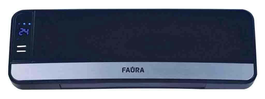 Faura Avant 9005 тепловентилятор25317Faura представляет линейку тепловентиляторов настольного, напольного и настенного типа. По типу нагревателя тепловентиляторы представлены приборами со спиральным и керамическим нагревательными элементами. Все они нашли применение в квартирах, на даче, в офисах, магазинах, рабочих мастерских и т.д. Все оборудование имеет 2 класс электрозащиты, защиту при опрокидывании и много другое.