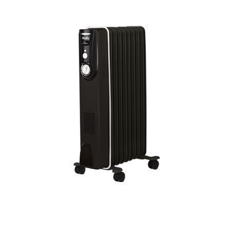 Ballu Modern BOH/MD-09BB масляный радиаторBOH/MD-09BBNМаслонаполненные радиаторы BALLU – это мобильные и современные приборы, выполненные в эксклюзивном дизайнерском решении. Антикоррозийный состав защищает модели от негативных воздействий внешней среды, матовое текстурное покрытие увеличивает теплоотдачу на 20%, а высокоточный термостат нового поколения автоматически поддерживает температуру в помещении.