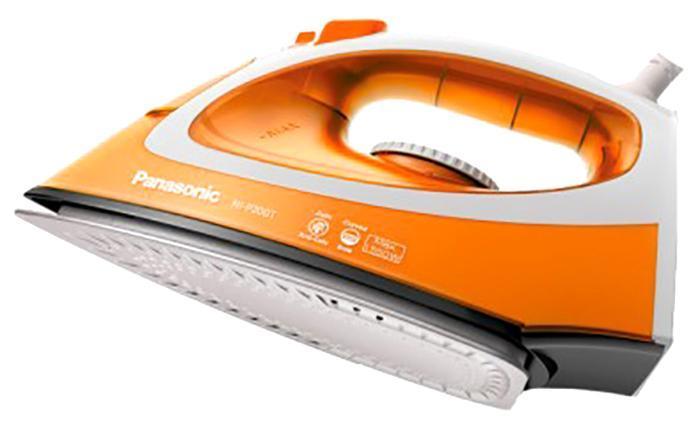 Panasonic NI-P200TTTW утюгNI-P200TTTWPanasonic NI-P200TTTW Утюг 1550Вт,сферич.под.Round-Ride,п/п до 13 г/мин,защита от накипи CalcCut
