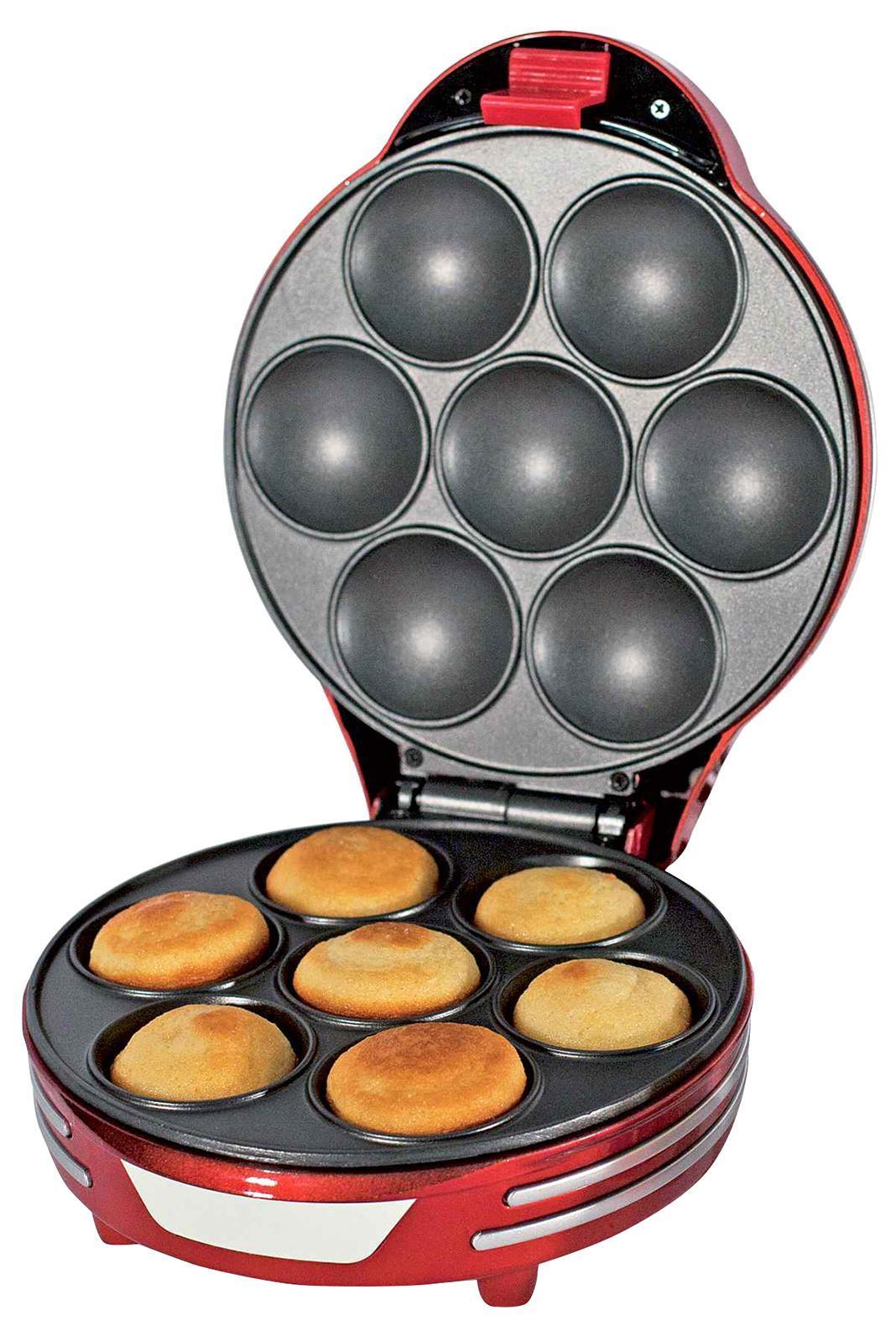 Ariete 188 Party Time, Red прибор для приготовления маффинов - Блинницы и вафельницы