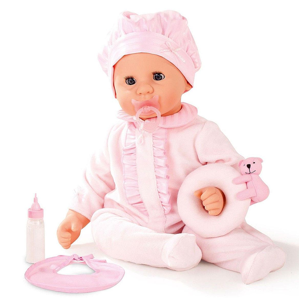 Gotz Пупс Малыш в розовом костюме gotz пупс аквини мальчик