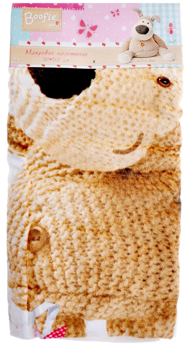"""Махровое полотенце Mona Liza """"Буффи с воздушным змеем"""", выполненное из натурального 100% хлопка, подарит вам и вашему малышу мягкость и необыкновенный комфорт в использовании. Полотенце украшено изображением знаменитого щенка Буффи.Красочное изображение Буффи и невероятная мягкость полотенца обязательно приведут в восторг вашего ребенка и превратят любое купание в веселую и увлекательную игру. Ткань не вызывает аллергических реакций, обладает высокой гигроскопичностью и воздухопроницаемостью. Полотенце великолепно впитывает влагу, нежное на ощупь и не теряет своих свойств после многократной стирки. Порадуйте себя и своего ребенка таким замечательным подарком! Режим стирки: при 40°С; плотность плетения ткани: средняя."""