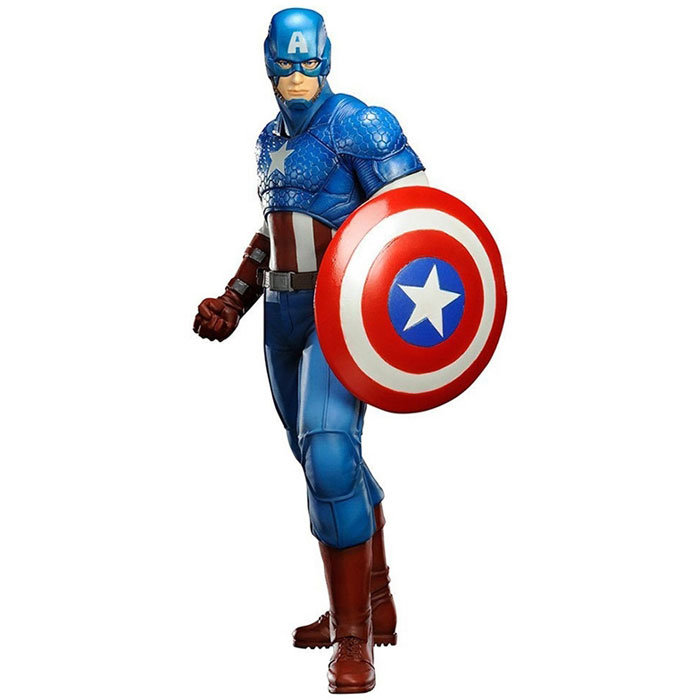 Марвел. Статуэтка Капитан Америка пайпер америка