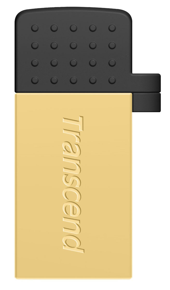 Transcend JetFlash 380 8GB, Gold USB-накопитель