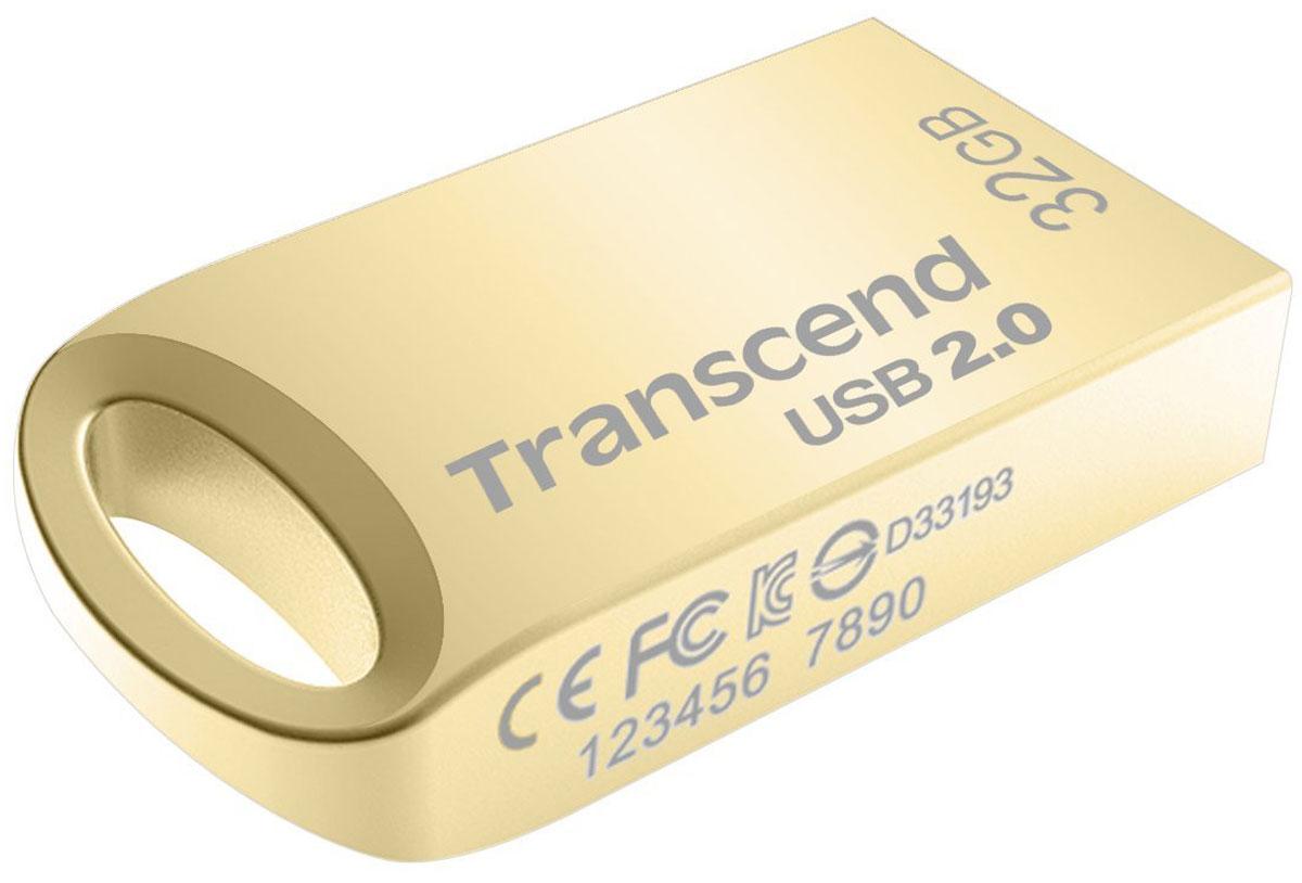 Transcend JetFlash 510 32GB, Gold USB-накопитель - Носители информации