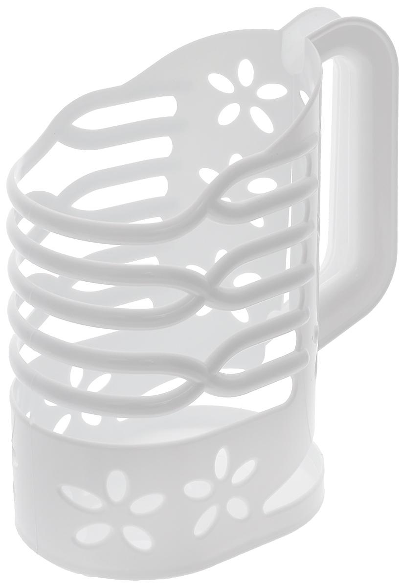 """Держатель для молока """"Альтернатива"""" изготовлен из высококачественного прочного  пластика. Изделие предназначено для хранения пакета с молоком, кефиром и другими  напитками. Держатель способен подстраиваться под размер пакета и снабжен удобной ручкой.   Держатель для молока """"Альтернатива"""" станет незаменимым аксессуаром на любой  современной кухне. Предназначен для молочных пакетов объемом: 1 л."""