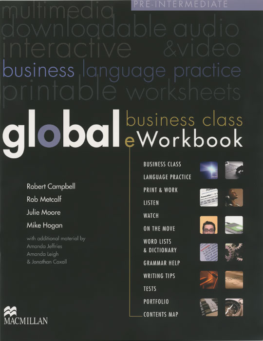 Global: Pre-intermediate: Workbook (+ DVD-ROM)