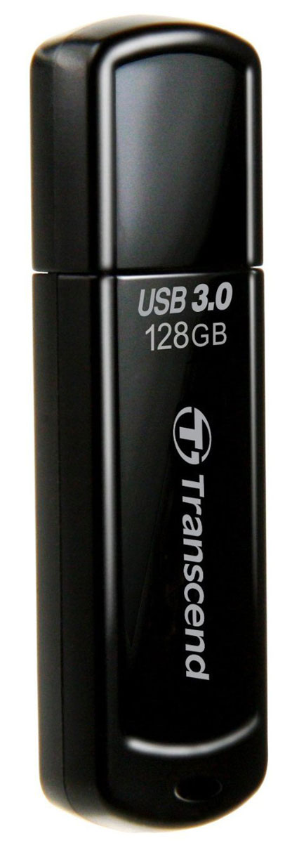 Transcend JetFlash 700 128GB, Black USB-накопитель usb flash накопитель transcend ts128gjf790w 128gb