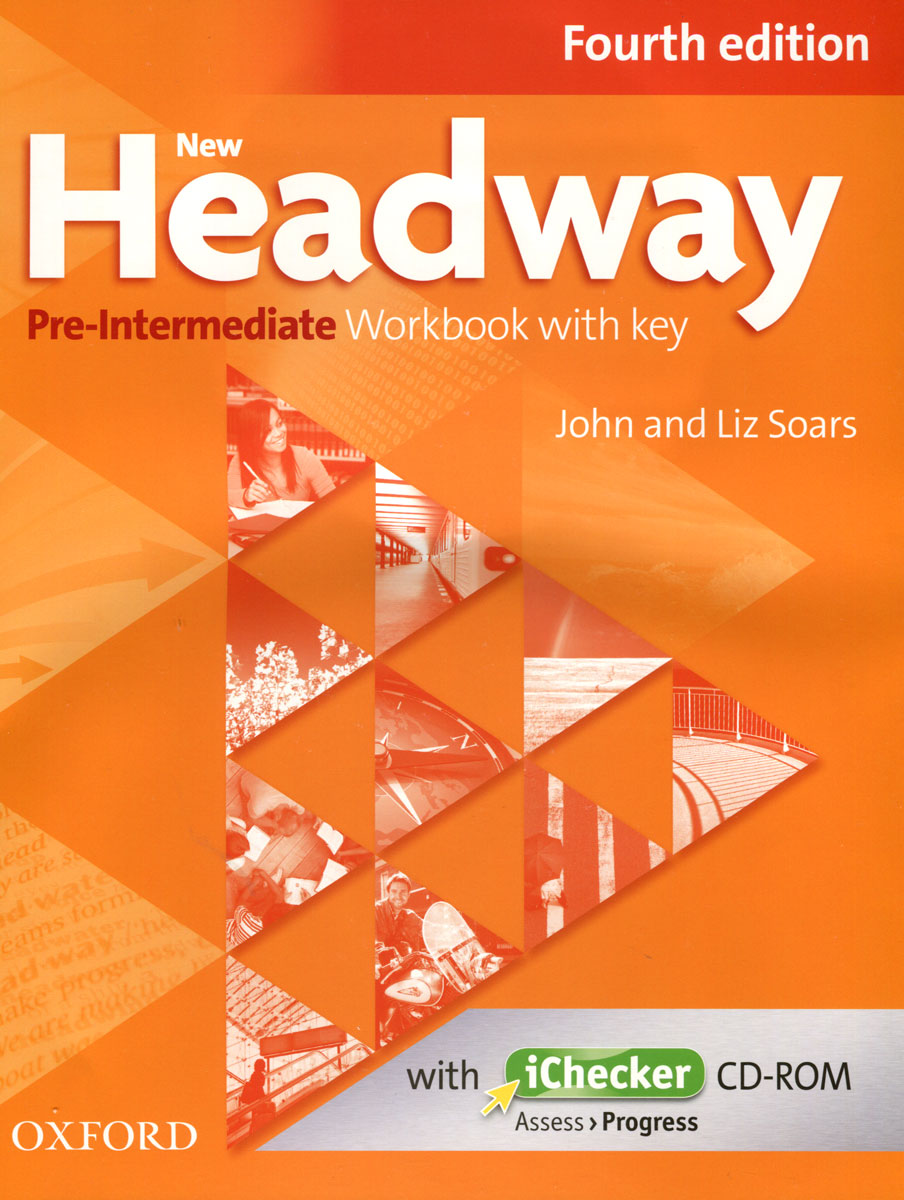 Фото New Headway: Pre-Intermediate: Workbook with Key (+ CD-ROM)