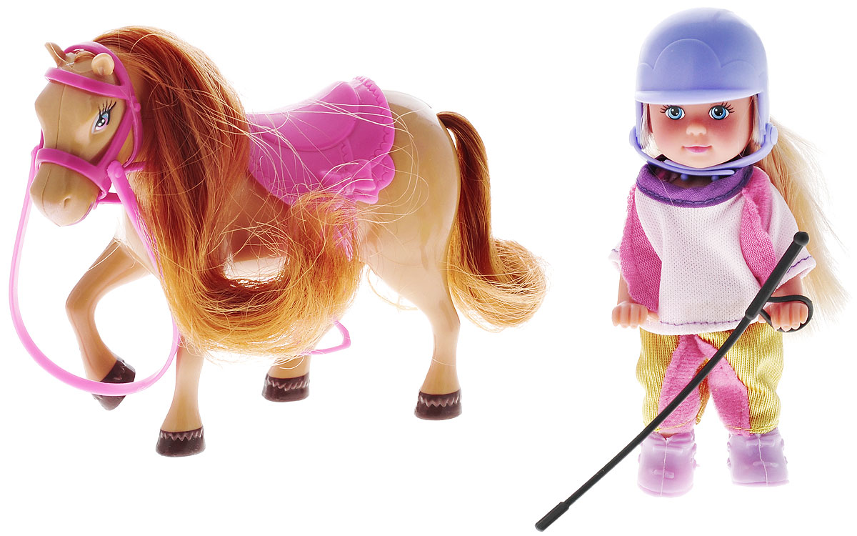 Simba Игровой набор Еви с пони simba игровой набор с мини куклой evi love fairy carriage