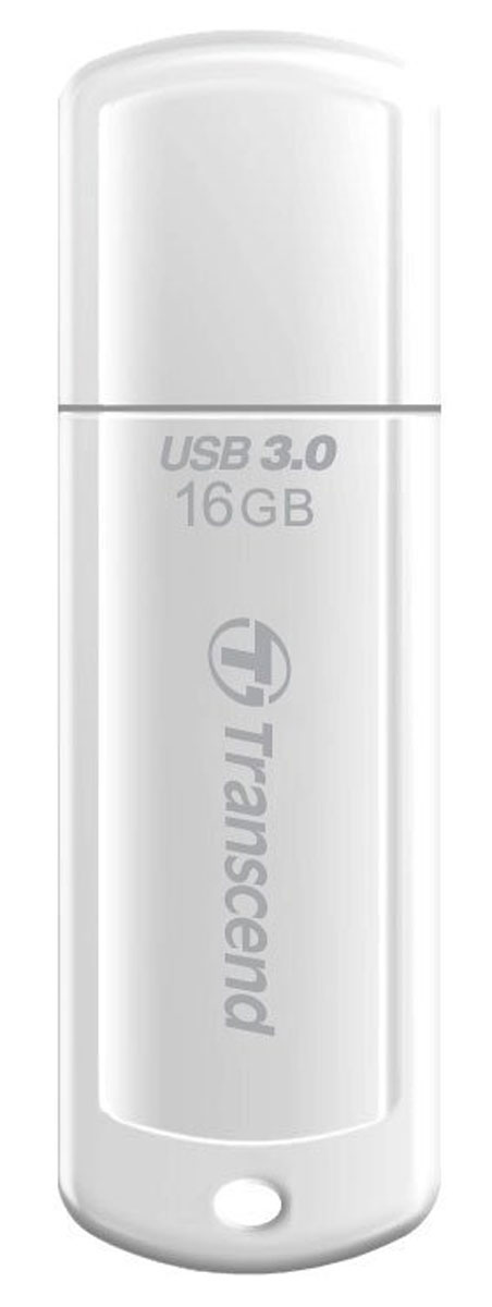 Transcend JetFlash 730 16GB, White USB-накопитель