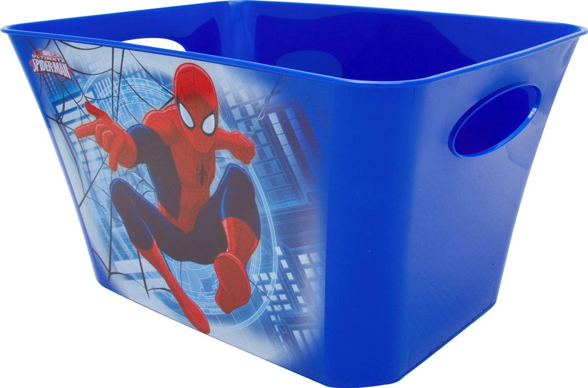 Корзинка Disney Человек-паук, цвет: синий, 5 л