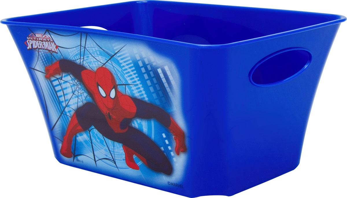 Корзинка Disney Человек-паук, цвет: синий, 1,5 л вазочки конфетницы корзинки объемные изделия крючком