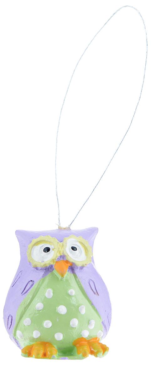 Декоративное подвесное украшение Феникс-презент Совы, 3 см х 2,5 см х 3 см, 4 шт39438Набор подвесных украшений Феникс-презент Совы изготовлен из полирезины. Элементы выполнены в виде сов и оснащены специальной текстильной петелькой для подвешивания. Такое украшение будет потрясающе смотреться в интерьере комнаты.