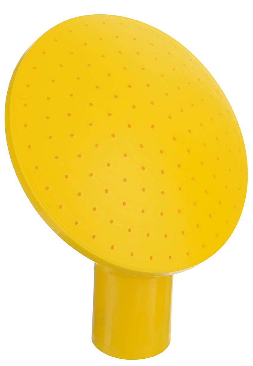 Рассеиватель для лейки Альтернатива, цвет: желтыйМ181Рассеиватель для лейки Альтернатива выполнен из пластика. Он предназначен для полива насаждений на приусадебном участке. Выпуклая форма позволяет производить равномерный полив, не прибивая растения.