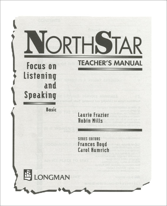 NorthStar: Focus on Listening and Speaking: Basic: Teacher's Manual sherry preiss northstar listening