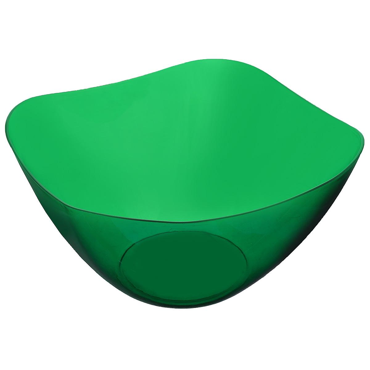 """Салатник Berossi """"Ice"""" изготовлен из высококачественного пищевого пластика. Такой салатник  прекрасно подойдет для сервировки салатов, фруктов, ягод. Прекрасный вариант для дачи и  отдыха на природе.  Объем: 1 л.  Размер (по верхнему краю): 16,3 см х 16,3 см.  Высота стенки: 8 см."""