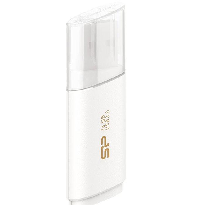 Silicon Power Blaze B06 16GB, White USB-накопитель - Носители информации