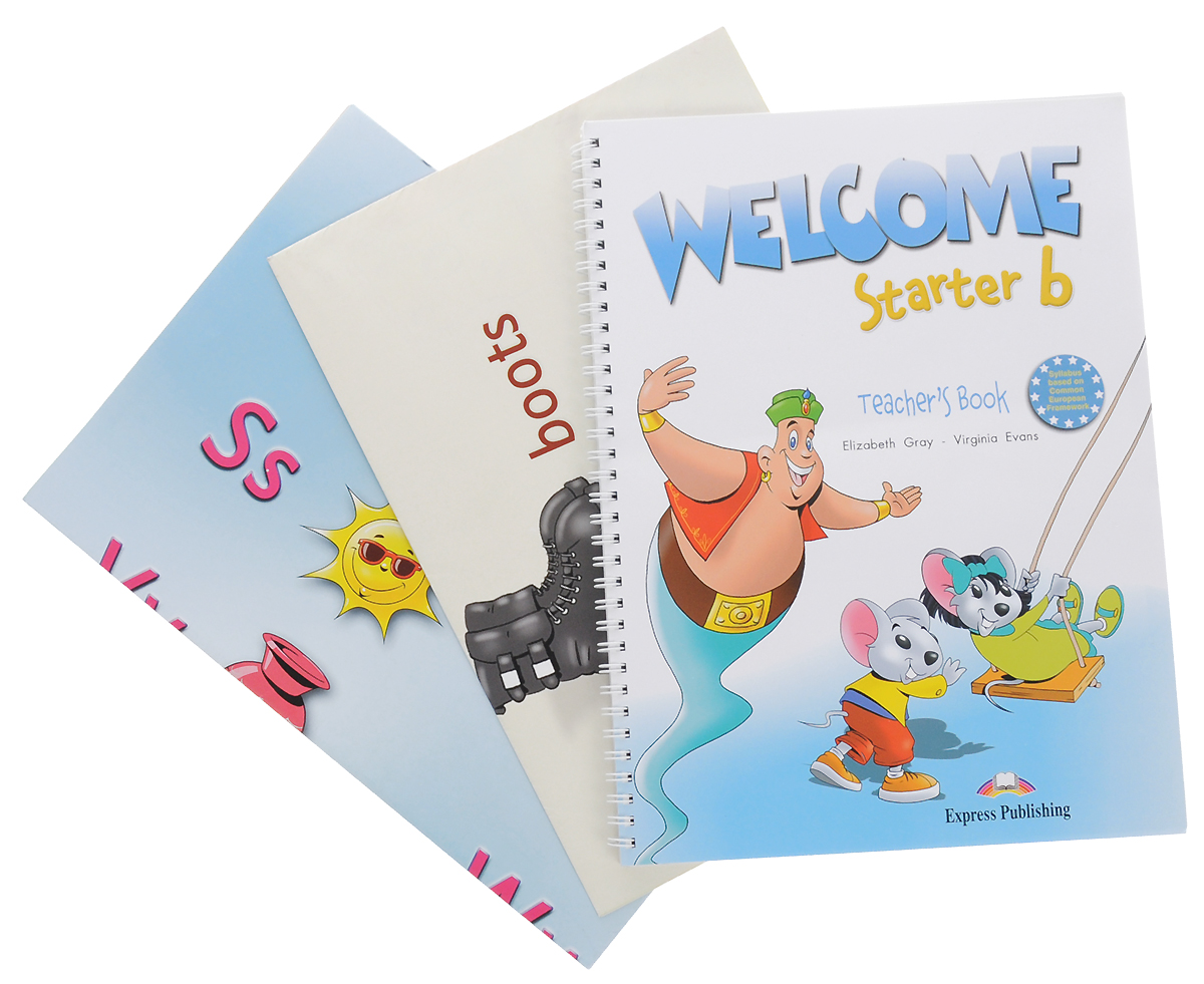 Elizabeth Gray, Virginia Evans Welcome Starter B: Teacher's Book welcome starter a class cd для занятий в классе cd