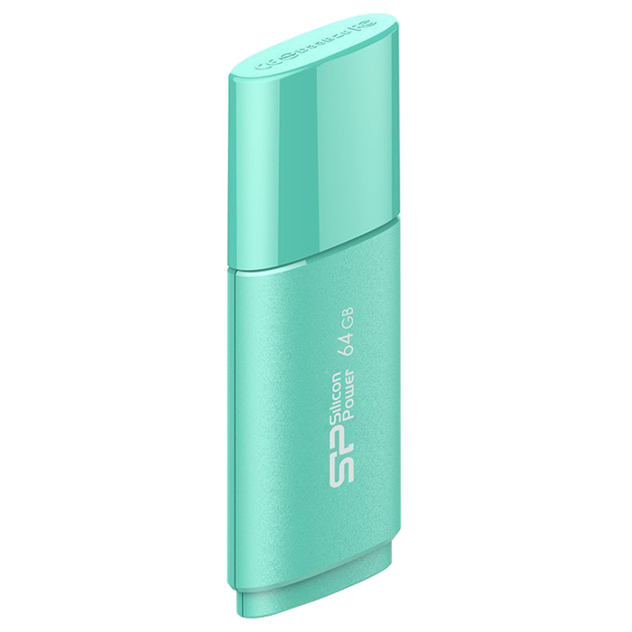 Silicon Power Ultima U06 64GB, Turquoise USB-накопитель
