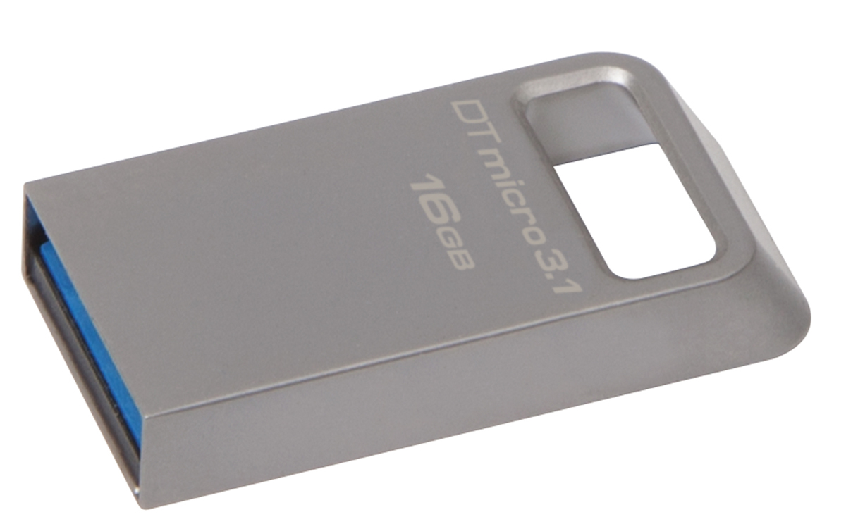Kingston DataTraveler Micro 3.1 16GB USB-накопитель