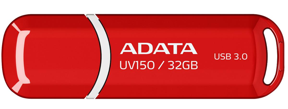 ADATA UV150 32GB, Red USB-накопитель - Носители информации