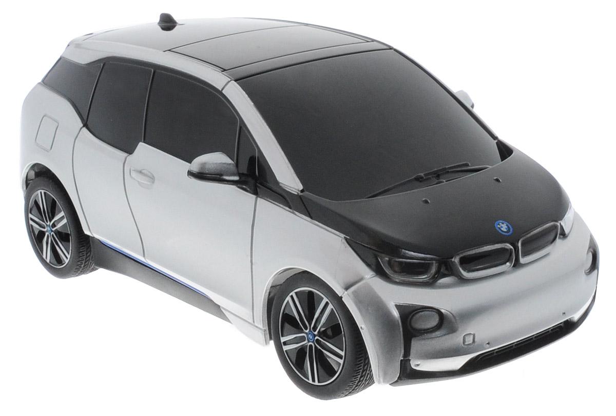 Rastar Радиоуправляемая модель BMW i3 цвет серебристый