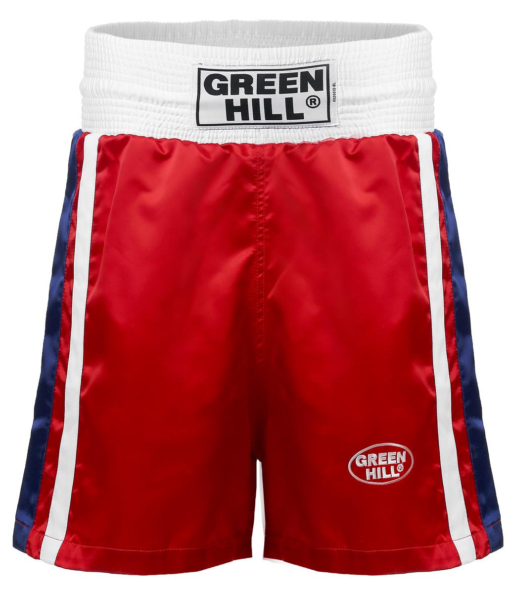 Трусы боксерские GREEN HILL OLIMPIC, цвет: красный. BSO-6320. Размер XS (44) трусы dressed in green трусы