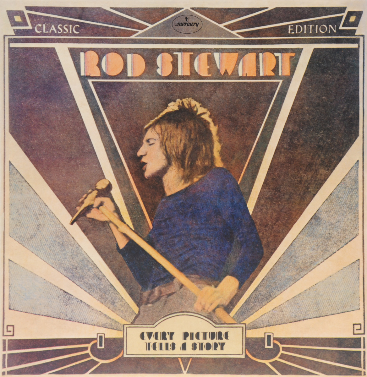 Род Стюарт Rod Stewart. Every Picture Tells A Story. Classic Edition (LP) portable 5 section telescopic fishing rod pole 2 1m length