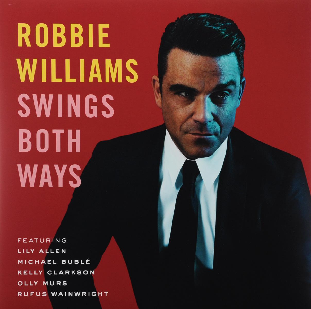 Робби Уильямс Robbie Williams. Swings Both Ways. Limited Edition (2 LP) cd robbie williams heavy entertainment show