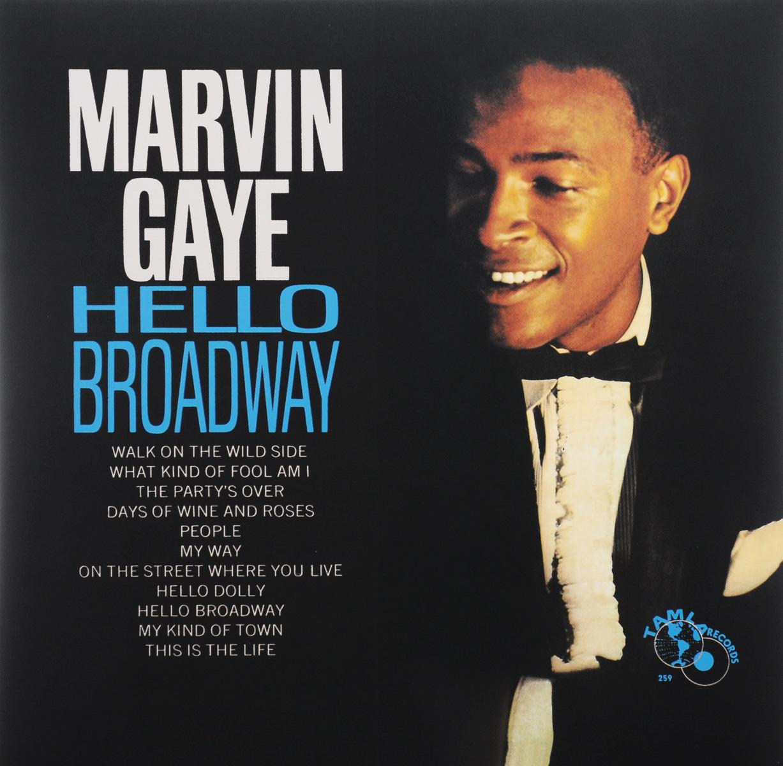 Марвин Гэй Marvin Gaye. Hello Broadway (LP) marvin gaye here my dear