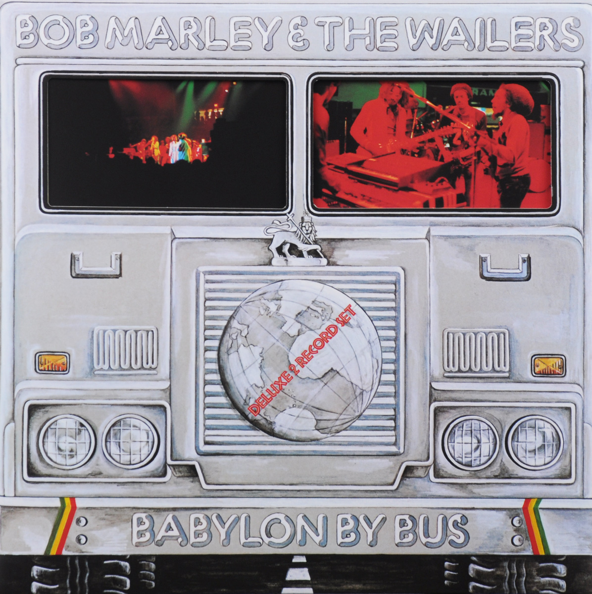 Боб Марли Bob Marley. Babylon By Bus. Deluxe 2 Record Set (2 LP) our discovery island 4 audio cd 3 лцн
